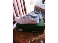 Size 8 woman's Lacoste Trainers