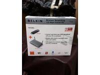 Belkin wireless networking starter kit