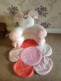 Teddy bear sit me up
