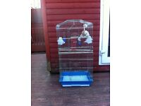 Large budgie cage for sale