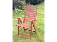 2 Brand new chairs and 4 used/weathered chairs for sale