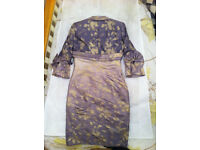 Mother of the Bride Two Piece Outfit (Mascara) size 12