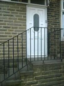 solid wood external door