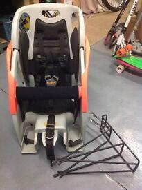 Rhode Gear 'Limo' Childrens Bike Seat & Rack