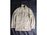 John Lewis Sandstone Cotton Jacket - Unworn
