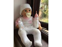 Baby Annabell 2004 Bundle - vintage baby doll with original accessories