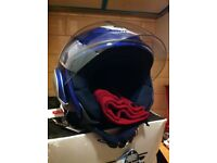 Givi open face helmet - Brand New, unused in box, free fleece neck warmer incl.size XS