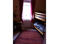 Lodger pref Mon-Friday Flat share with landlord. Quiet comfy flat with broadband and cable .