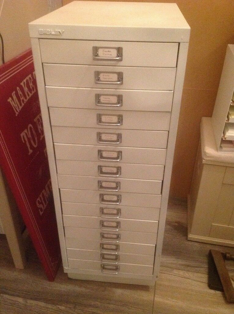meet adc3a 02fce Bisley 15 drawer filing cabinet | in Motherwell, North Lanarkshire | Gumtree