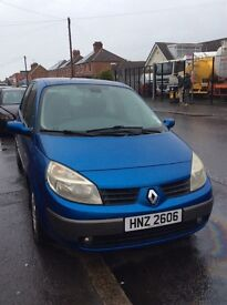 Renault scenic for sale parts or repair