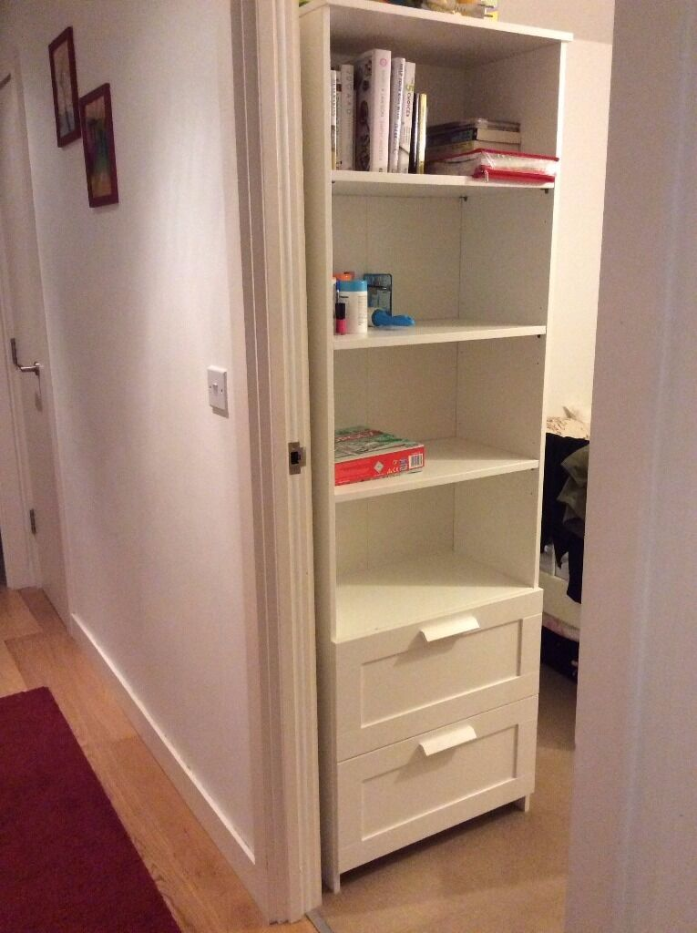 IKEA Brimnes Book Case Shelf White Like New
