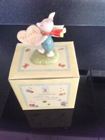 Royal Doulton Piglet With Love figurine BNIB