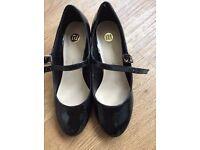 River Island Mary Jane Shoes Black Size 2