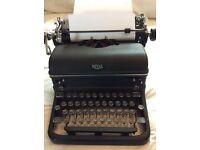 1940 Royal type writer
