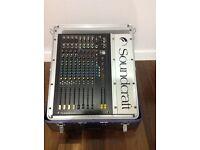 Sound Craft Spirit M4 Mixing Desk With NJS Flight Case