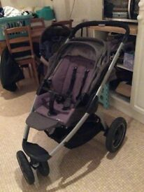 Maxi Cosi Mura Plus 3 with Hard shell Carrycot Excellent condition