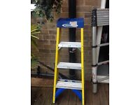1pair of step ladders excellent condition only used twice thay are 5 ft