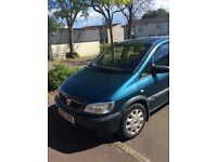 Vauxhall zafira car for swap or sale