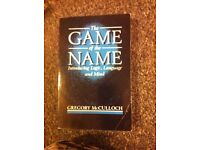 The Game of the Name, by Gregory McCulloch