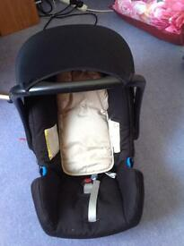 Oyster pram buggy for sale including britax car seat