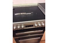Beko Ceramic Hob Double Oven