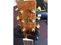 HUDSON FIRE FLY DELUXE ELECTRIC ACOUSTIC GUITAR