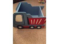 Next wooden book cart/toy box