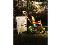 Mothercare 3 in 1 smart trike with box