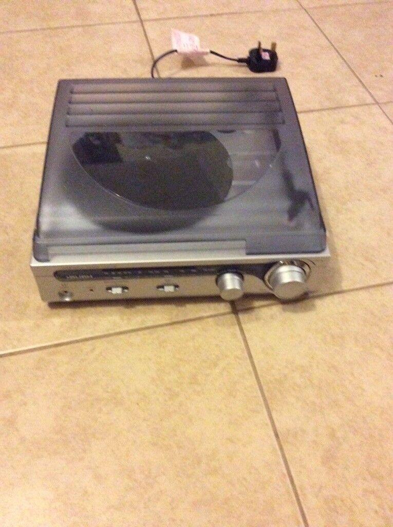 Bush TurnTable Radio system
