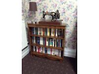 Solid bookcase, nice piece of furniture only £7 for quick sale tel Liz on 07933 398348