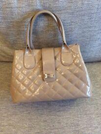 LK Bennett Patent Tote Bag