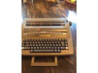 Sharp electric typewriter.