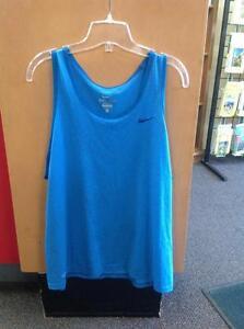 Nike Dri-Fit tank top - women's L - blue (sku: QB4TN4)