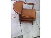 Art Deco Style Chair , Made by Atcraft . Great design of chair . free local delivery