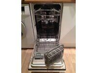 Integrated dishwasher Belling IDW450 slimline