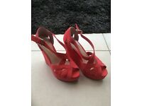 Womens wedge sandals (Dorothy Perkins) unused no box