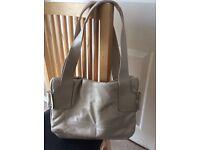 Beautiful Beige Soft Handbag. Brand New. Bargain. Great Gift