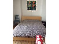 IKEA malm king size. RRP £495. With luxury IKEA mattress