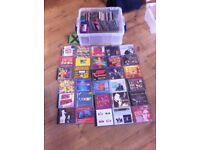 About 80 various Music C.D.s ex D.J. cleaning out