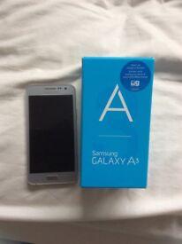 Samsung A3 galaxy phone for sale