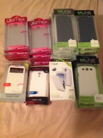 Samsung galaxy S3 and S4 cases