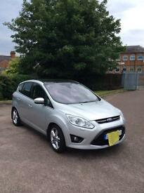 14 plate Ford C-Max titanium x ,with full mot & service history. 26,000 miles