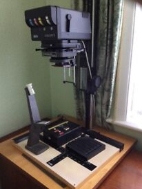 Darkroom photography colour enlarger, MEOPTA OPEMUS 6. Colour 3.