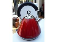Red Morphy Richards Kettle