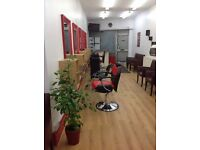 Salon space available for rent in Levenshulme. Pls contact me on 07985625019