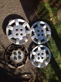 """Set of 14"""" wheel trims for Kia"""