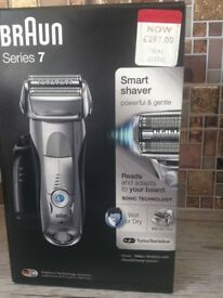 Braun series 7 shaver brand new