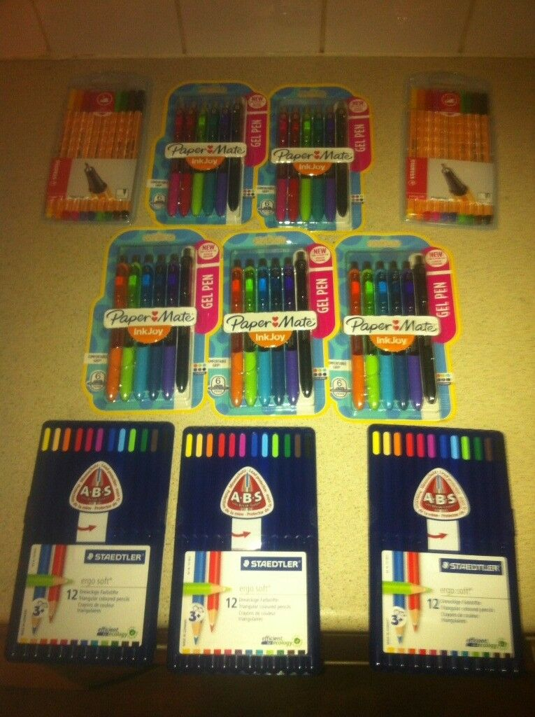 Selection of colouring stationery