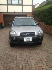 Hyundai Tucson for sale 2005 38500 miles excellent condition £2300