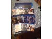 PS4 Console + Games